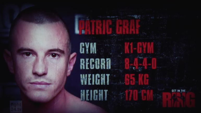GET IN THE RING Hamburg: Patric Graf vs. Kevin Burmester