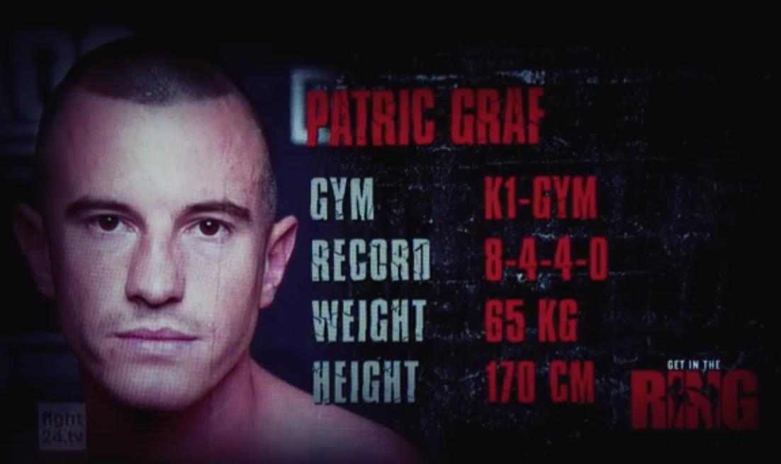 GET IN THE RING Hamburg: Patric Graf vs. Kevin Burmester