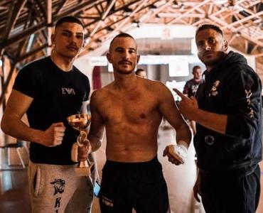 Patric Graf: KO-Sieg an Fightnight Frauenfeld 2019